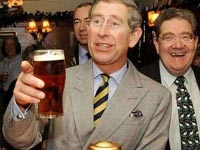 Prince Charles Tests Raw Alcohol
