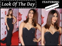 Vaani Kapoor Turns Heads In This Edgy Black Gown @Femina Beauty Awards