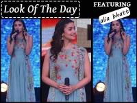 Alia Bhatt Gives A Breezy Look For Summer Weddings