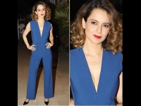 Kangana Ranaut's Blue Jumpsuit Is The Talk Of The Town