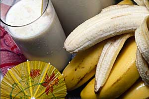 Banana Smoothies To Beat The Heat