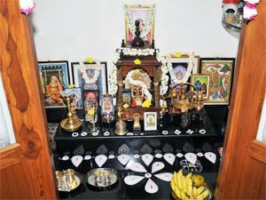 10 Ideas For Pooja Rooms Part 1 also How To Make A Puja Room moreover Alder doors furthermore Mandir F 01 furthermore Pooja Room Cabi  Usa. on simple mandir designs home