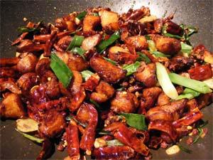 Chilli chicken dry recipe boldsky chilli chicken dry forumfinder Images
