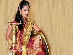 how to wear saree step by step in telugu
