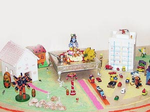 Janmashtami Pooja Room Decoration Ideas