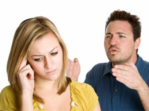 How to handle an angry spouse