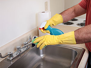 To Clean Your Kitchen Sink You Don T Need Any Rocket Science All You Need Is A Little Bit Of Good Sense And If You Are A New Home Maker Then We Are