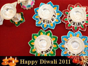 Lamp decoration ideas for diwali outdoor decoration for Indoor diwali decoration
