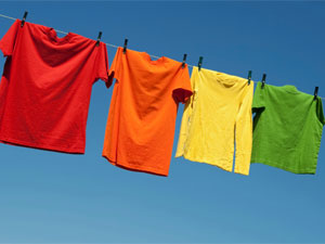 Coloured Clothes Care 101111 on maintaining a garden