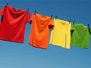 Coloured Clothes