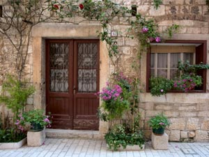 simple ideas to decorate your entrance
