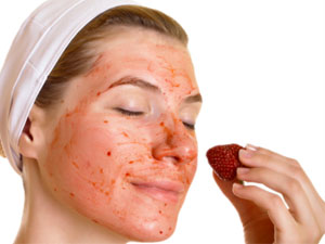 Strawberry Homemade Face Wash