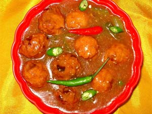Chicken manchurian recipe snack recipe chicken recipe boldsky chicken manchurian forumfinder Image collections