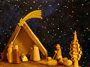 Christmas Crib Is One Of The Main Attraction For Kids Schools Hostels And Colleges Make Cribs To Set A Festive Mood Spread Joy