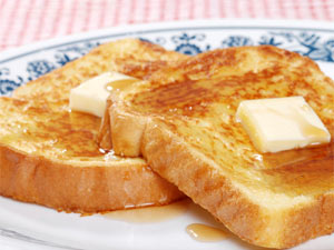 French Toast Without Eggs!