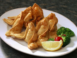 Fried Chicken Wontons: Chinese Appetizer