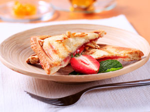 Strawberry Stuffed French Toast Recipe!