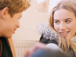 teenage flirt