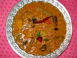 Kerala Style Sambhar: A Touch Of  South