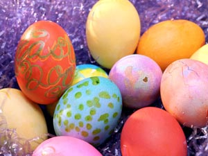 Use Leftover Easter Eggs