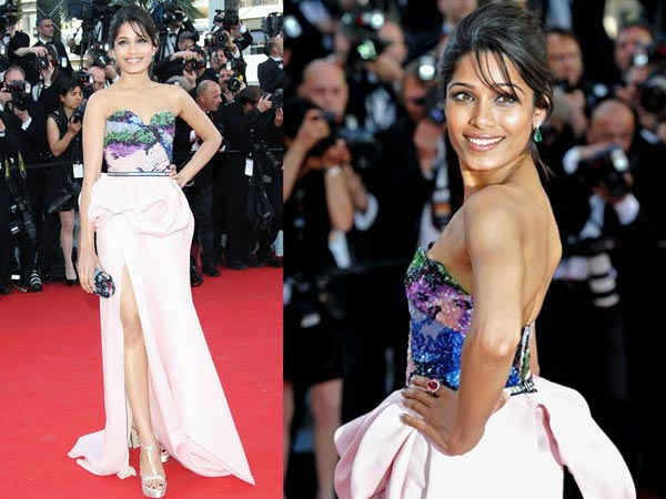Freida Pinto At The Cannes 2012