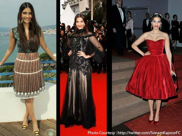 Sonam's Vintage Look At Cannes 2012