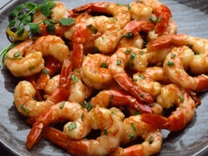 Royyala Vepudu: Andhra Stir Fried Prawns