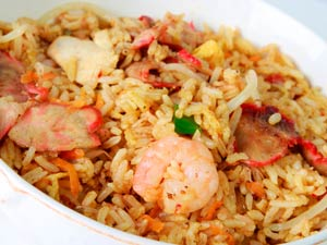 Mixed Fried Rice: A Chinese Cuisine
