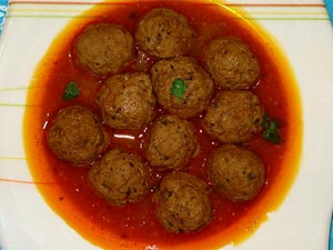 Mixed Vegetable Kofta