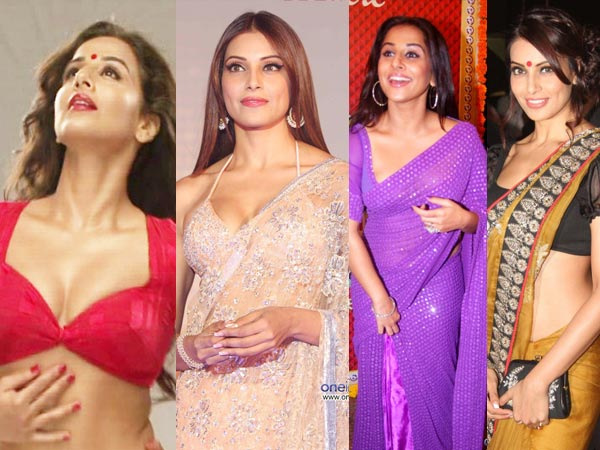 Blouse Designs To Flaunt Your Cleavage!