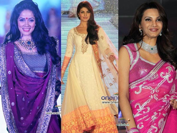 Celebrities In Ethnic Wear At CPAA Show