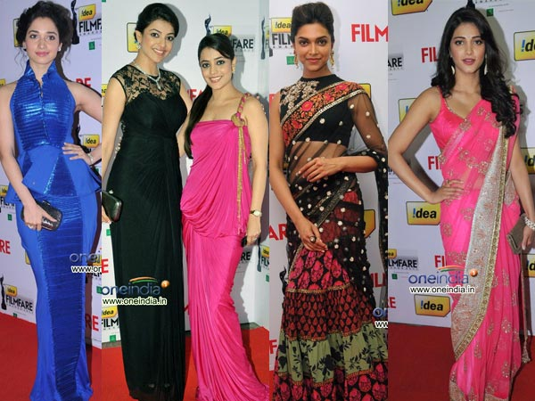 Best Dressed At Filmfare South Awards
