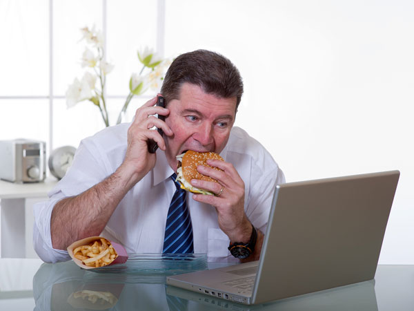 Unhealthy Office Habits Make You Fat