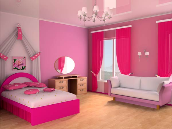 Room ideas for your little princess for Girl bedroom ideas pictures