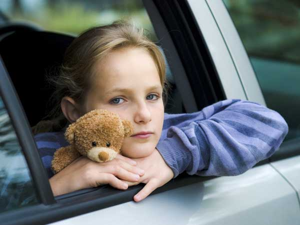 How To Handle Your Child's Car Sickness?