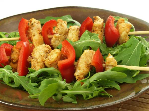 Healthy Chicken Kebabs