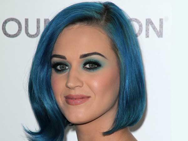 The Blue Bob Hairstyle