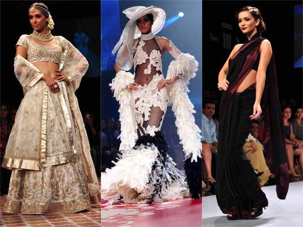 Celebrities At Lakme Fashion Week 2012