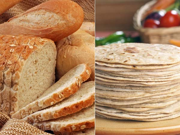 Roti Or Bread Is Healthier?