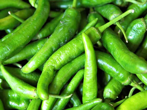 Green Chillies To Burn Body Fat