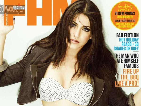 Anushka Sharma's Seductive Cover Pic