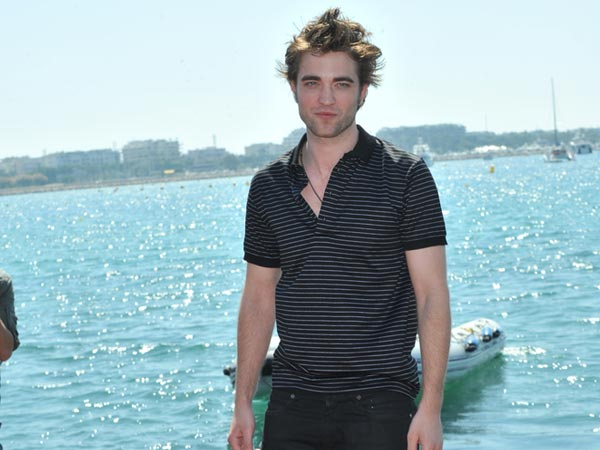 Robert Pattinson's Black Stripes