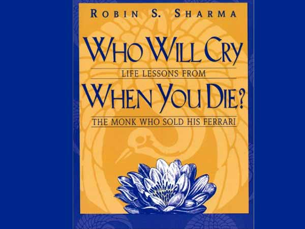 Who Will Cry When You Die- Book Review