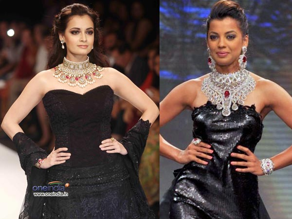 Celebs In Black At IIJW 2012