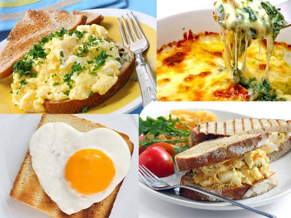 These are some ... Healthy Egg Breakfast Ideas