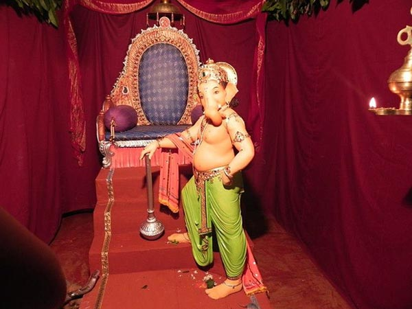 8 theme decors for ganesh chaturthi for Background decoration for ganpati
