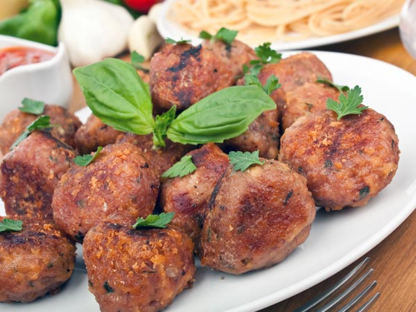 Italian Appetizers: Spicy Rice Balls