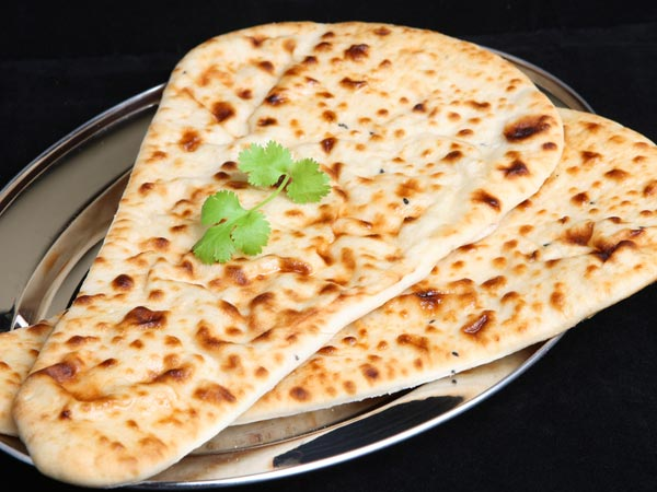 Baked Bhatura: Low Fat Indian Bread