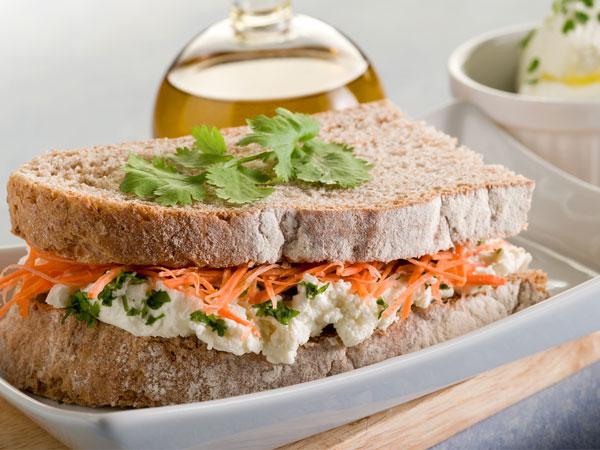 Grilled Chicken Cheese Sandwich Recipe