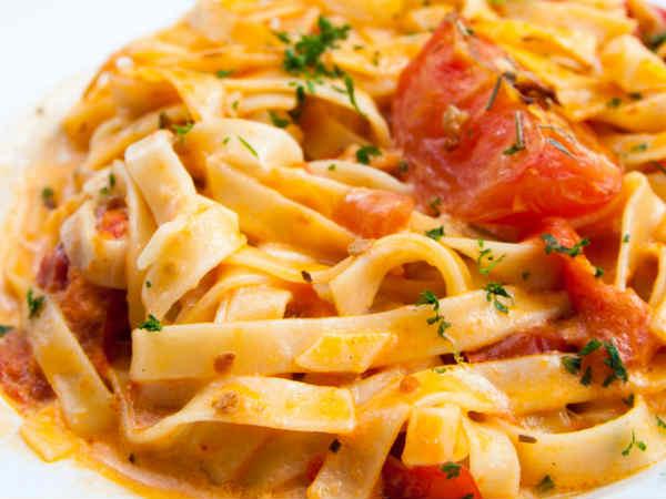 Tomato Pasta Delicious Italian Recipe